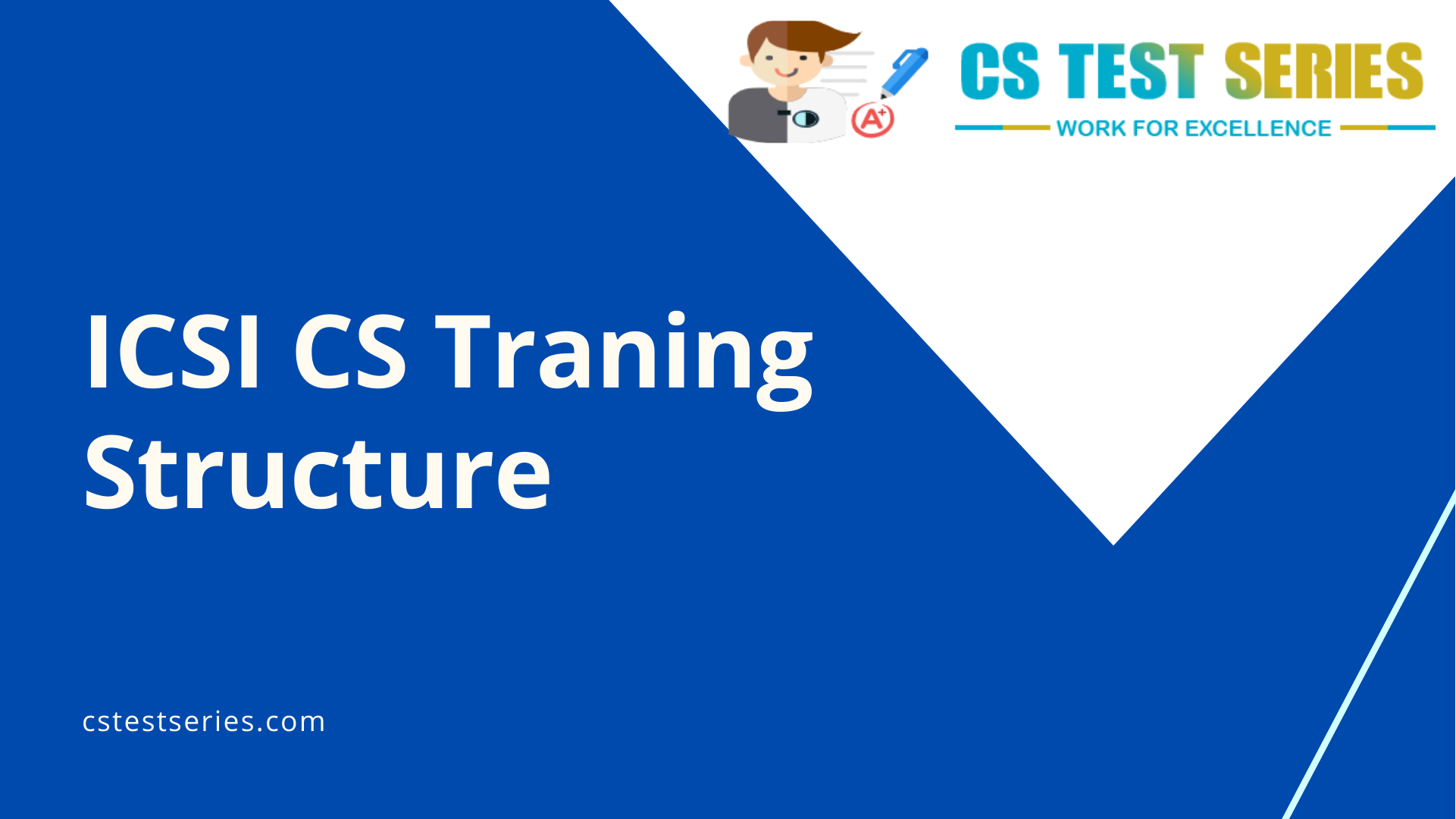 ICSI CS Traning Structure | CS Test Series