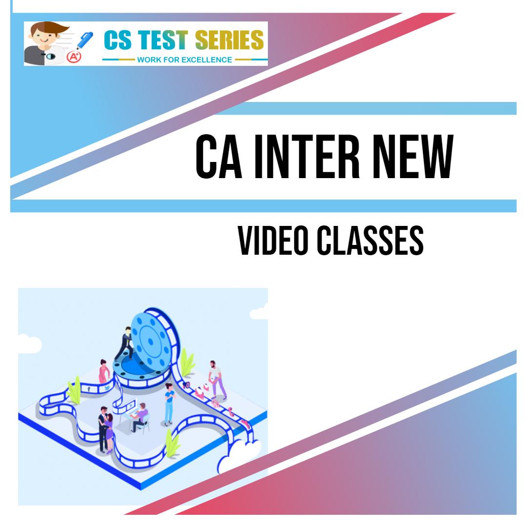 CA INTER NEW