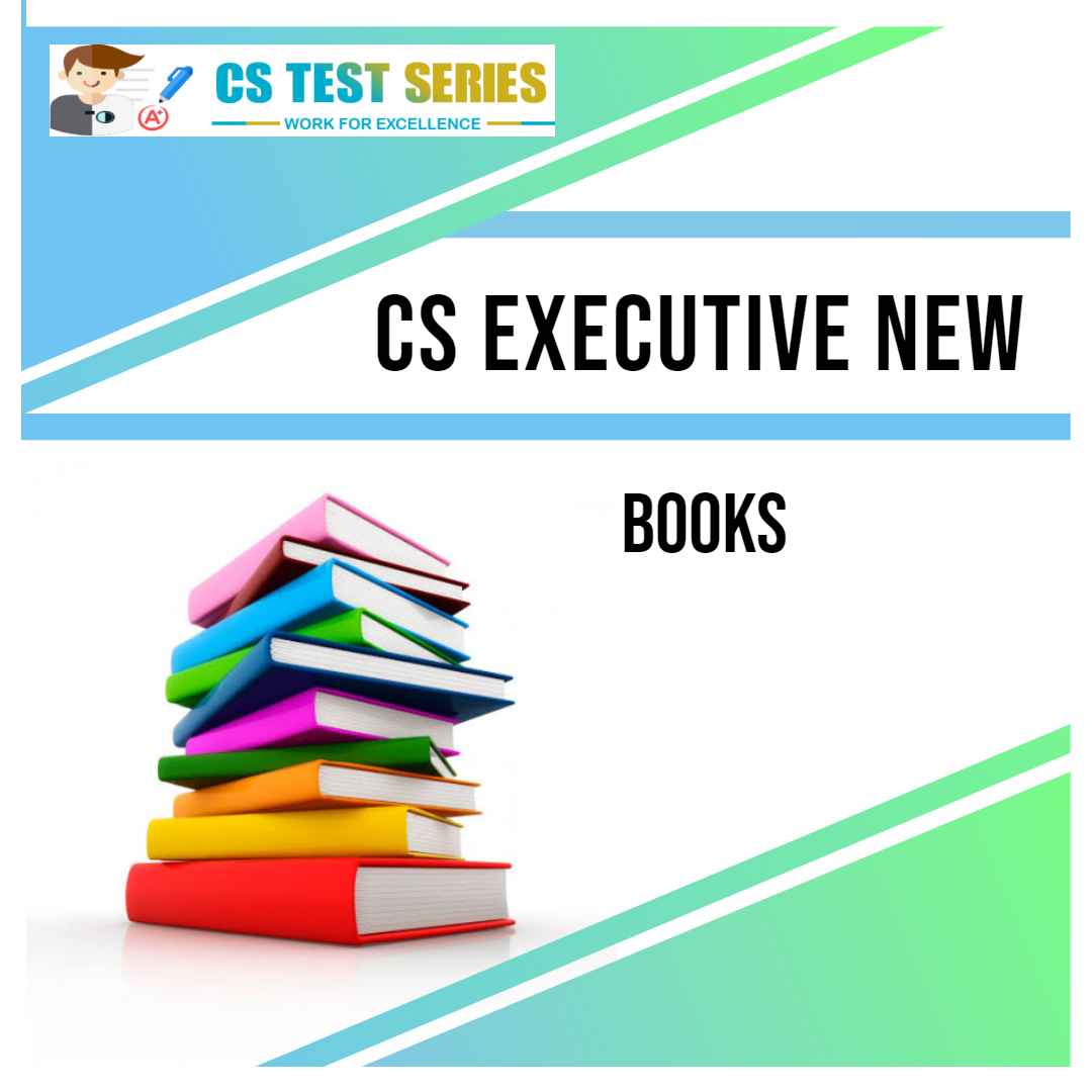 CS Executive New Syllabus Books