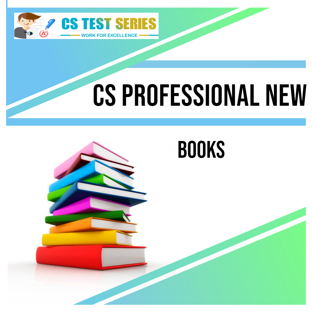 CS Professional New Syllabus Books