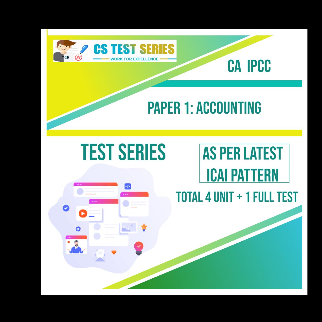 CA IPCC PAPER 1: Accounting