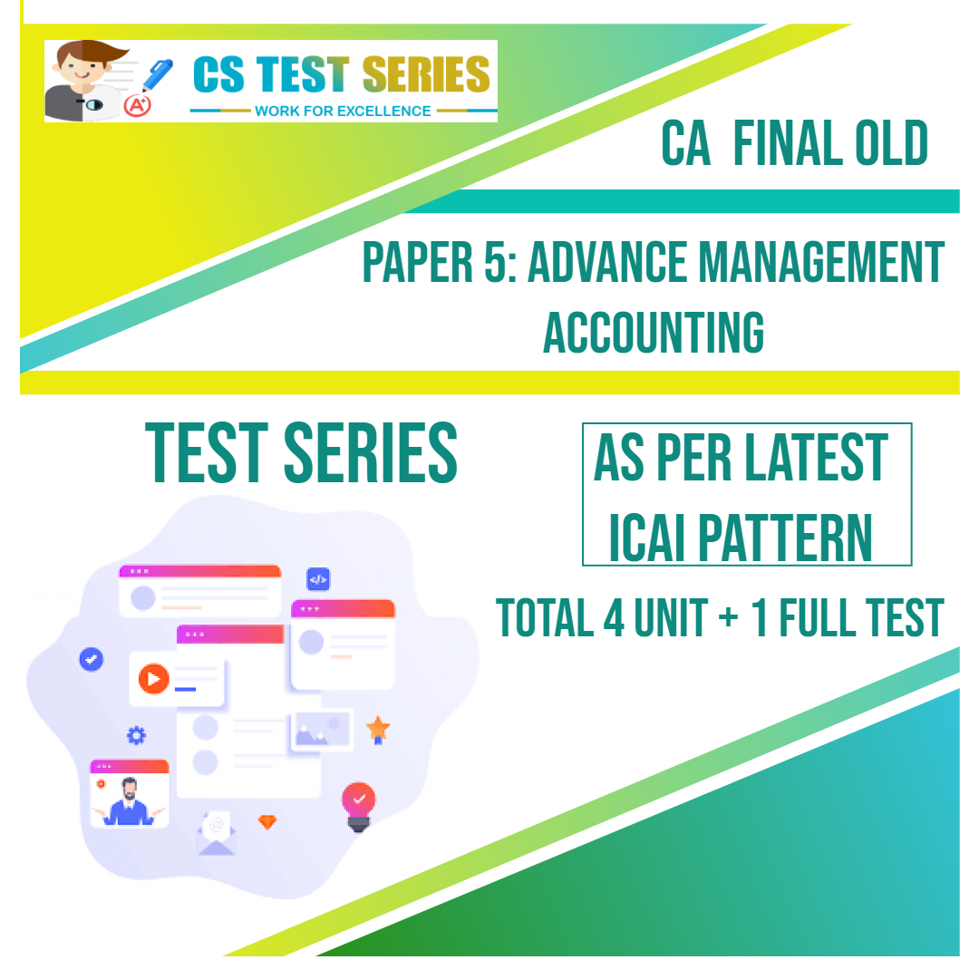 CA FINAL OLD PAPER 5: Advance Management Accounting