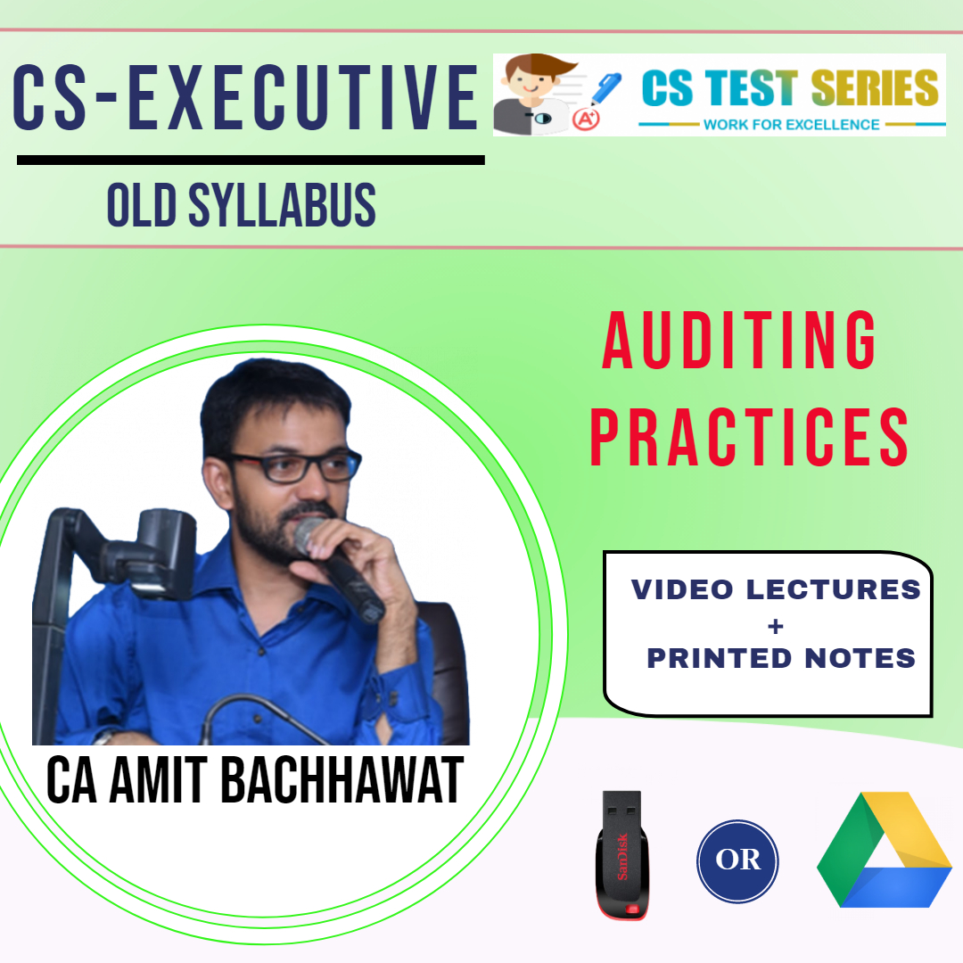 CA IPCC, Auditing & Assurance by CA,CS Amit Bachawat
