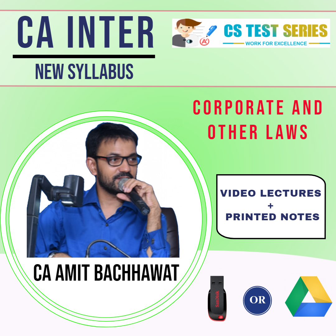 CA- Inter, Corporate and Other Laws