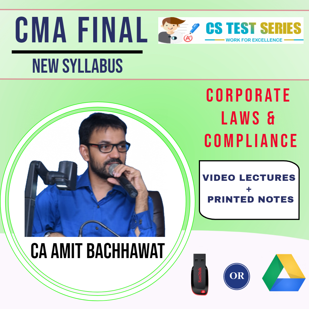 CMA Final, Corporate Laws & Compliance