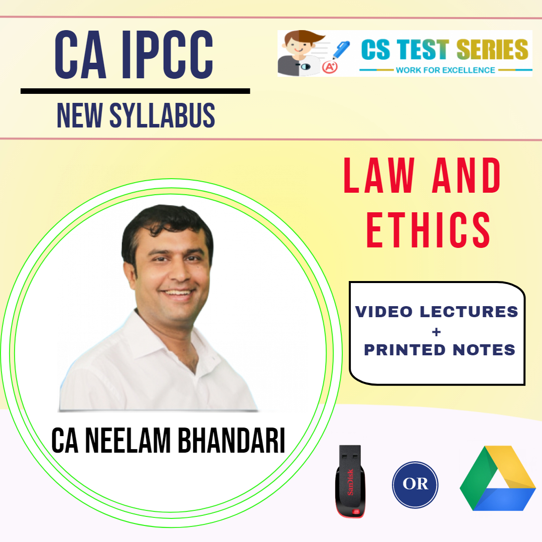 CA IPCC (New) Law, Ethics & Communication (Regular) By Neelam Kumar Bhandari