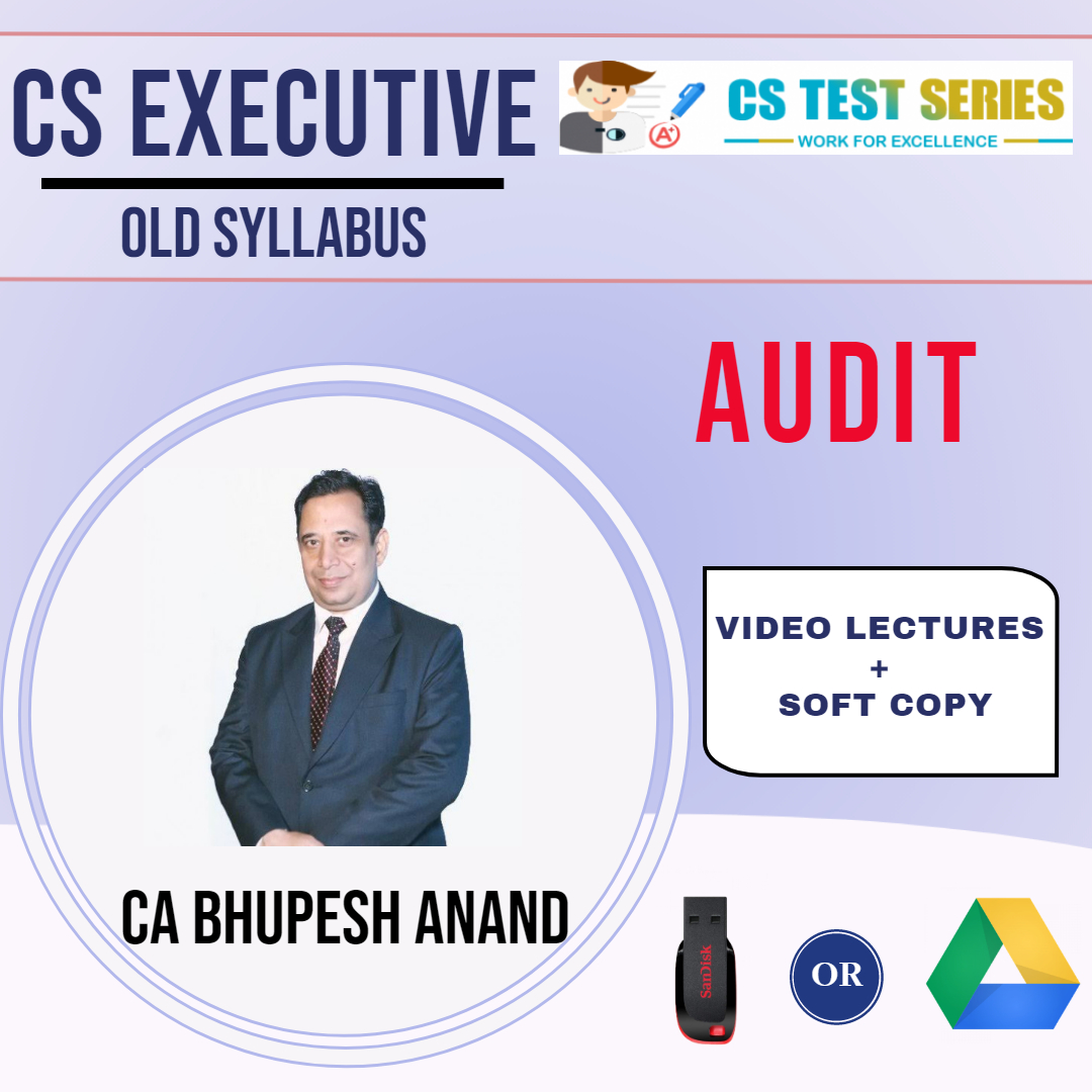CS Executive – Audit