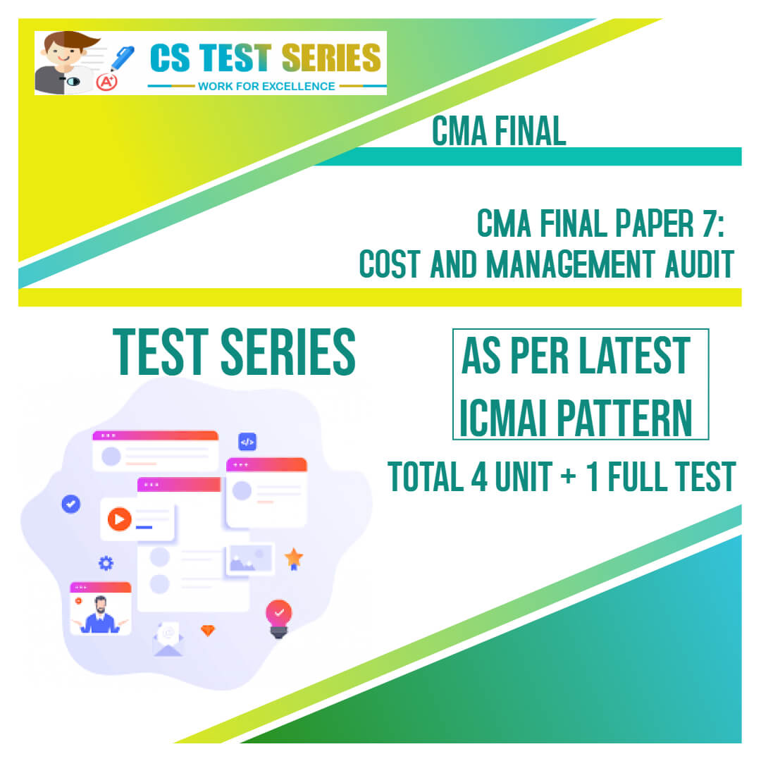 CMA Final PAPER 7 : Cost and Management Audit
