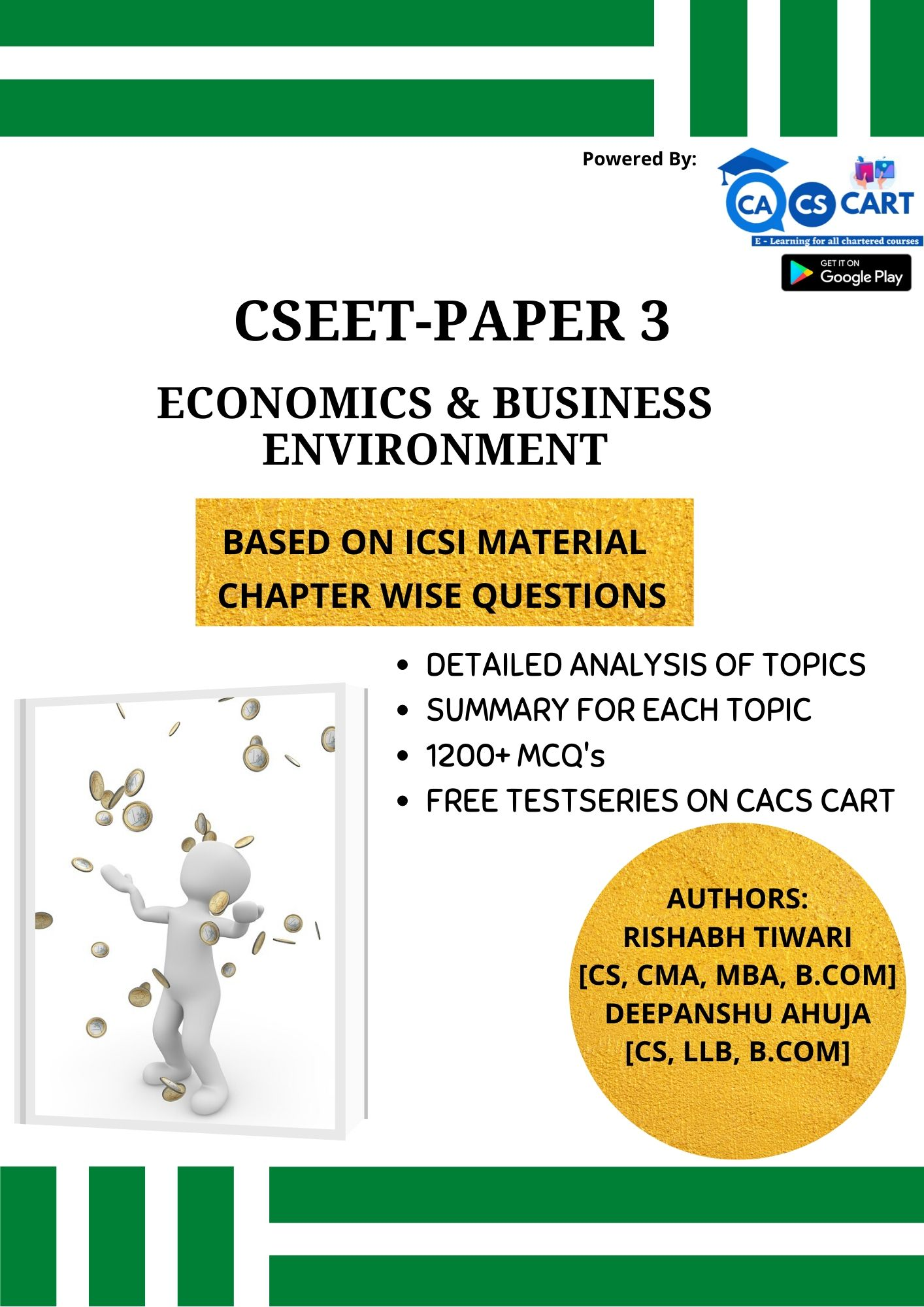 CSEET PAPER 3 - Economic and Business Environment