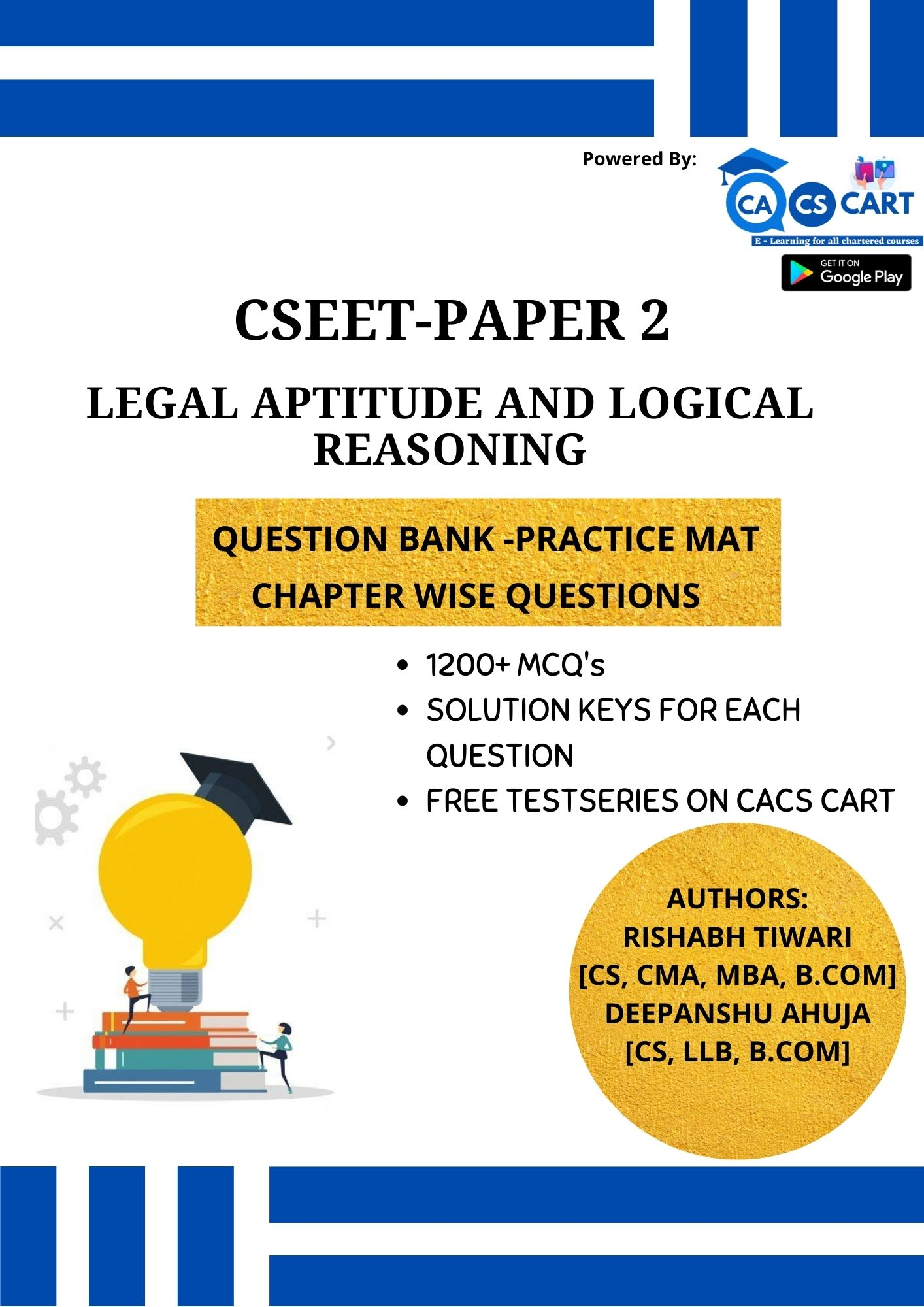 CSEET PAPER 2 - Legal Aptitude and Logical Reasoning Practice Mat