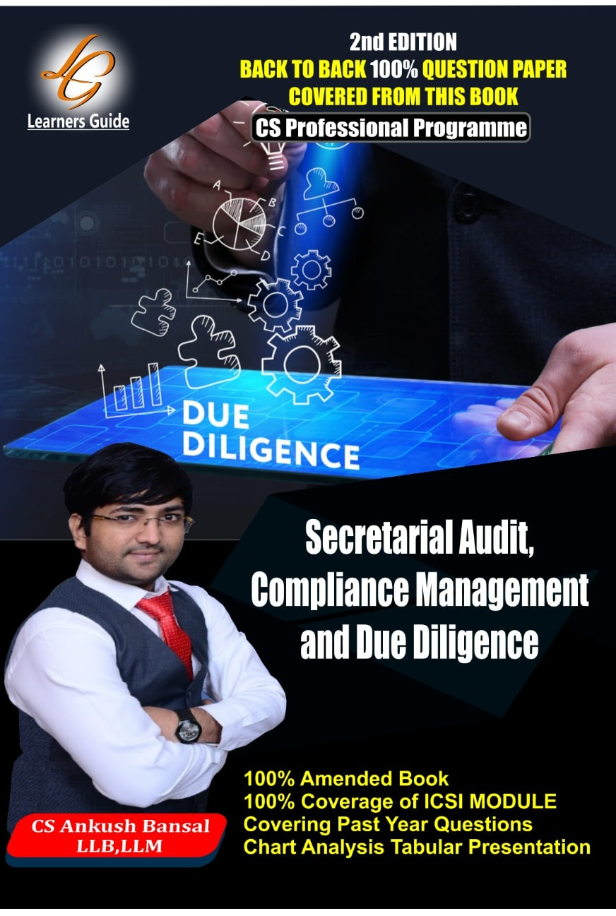 SECRETARIAL AUDIT COMPLIANCE MANAGEMENT AND DUE DILIGENCE  By Ankush Bansal