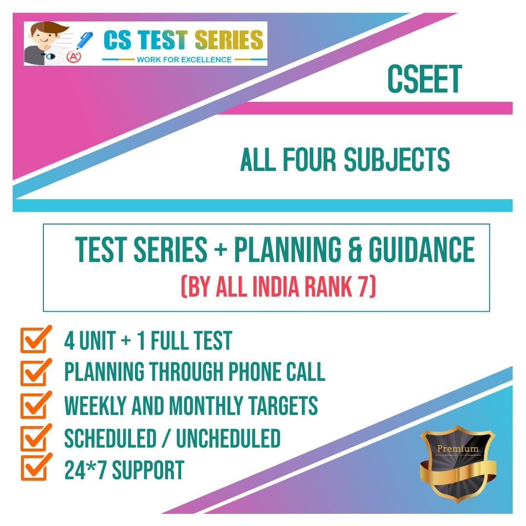 CSEET  All Four Subjects 2.0