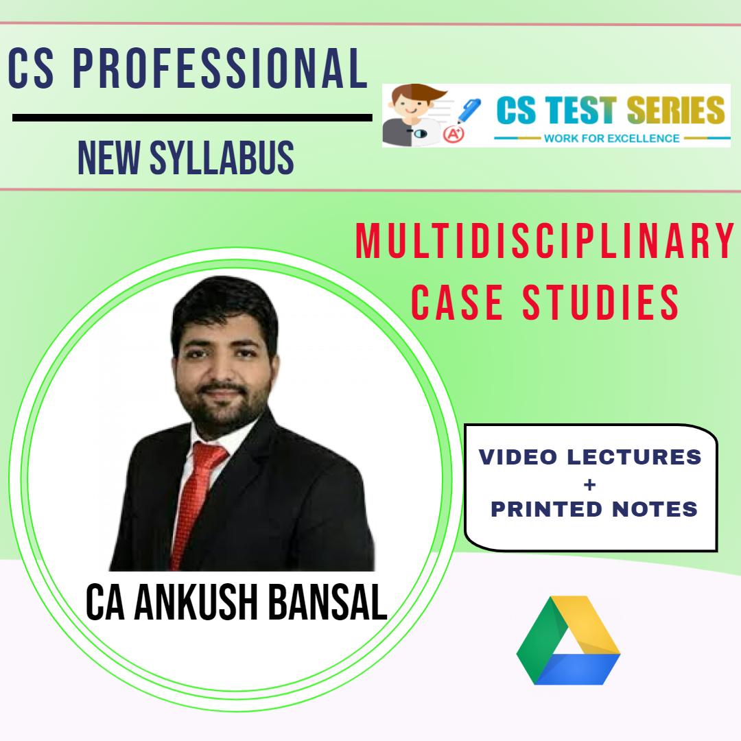 Multidisciplinary Case Studies By CS Ankush bansal