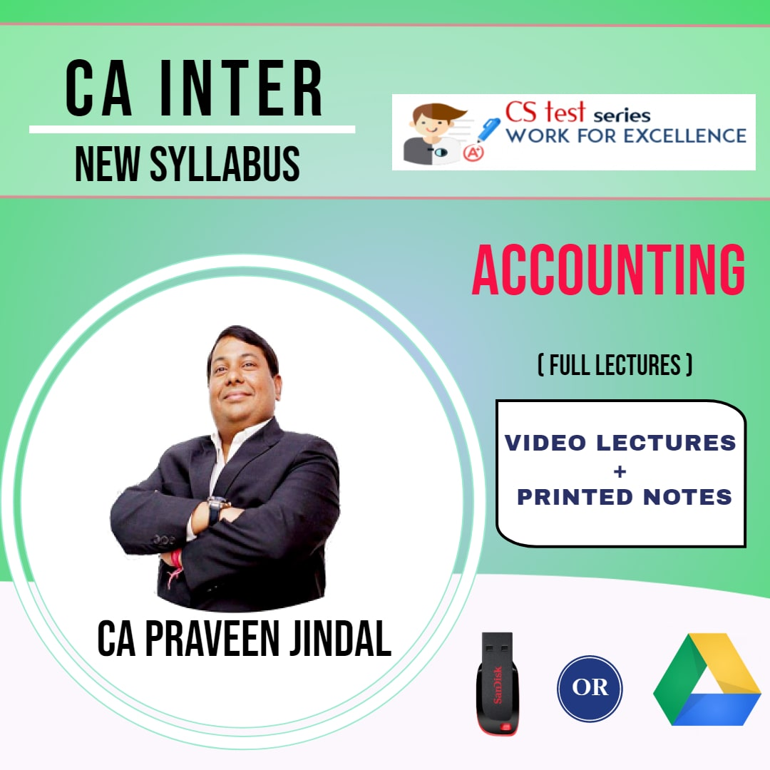 CA INTERMEDIATE GROUP I Accounting Full Lectures By CA Parveen Jindal