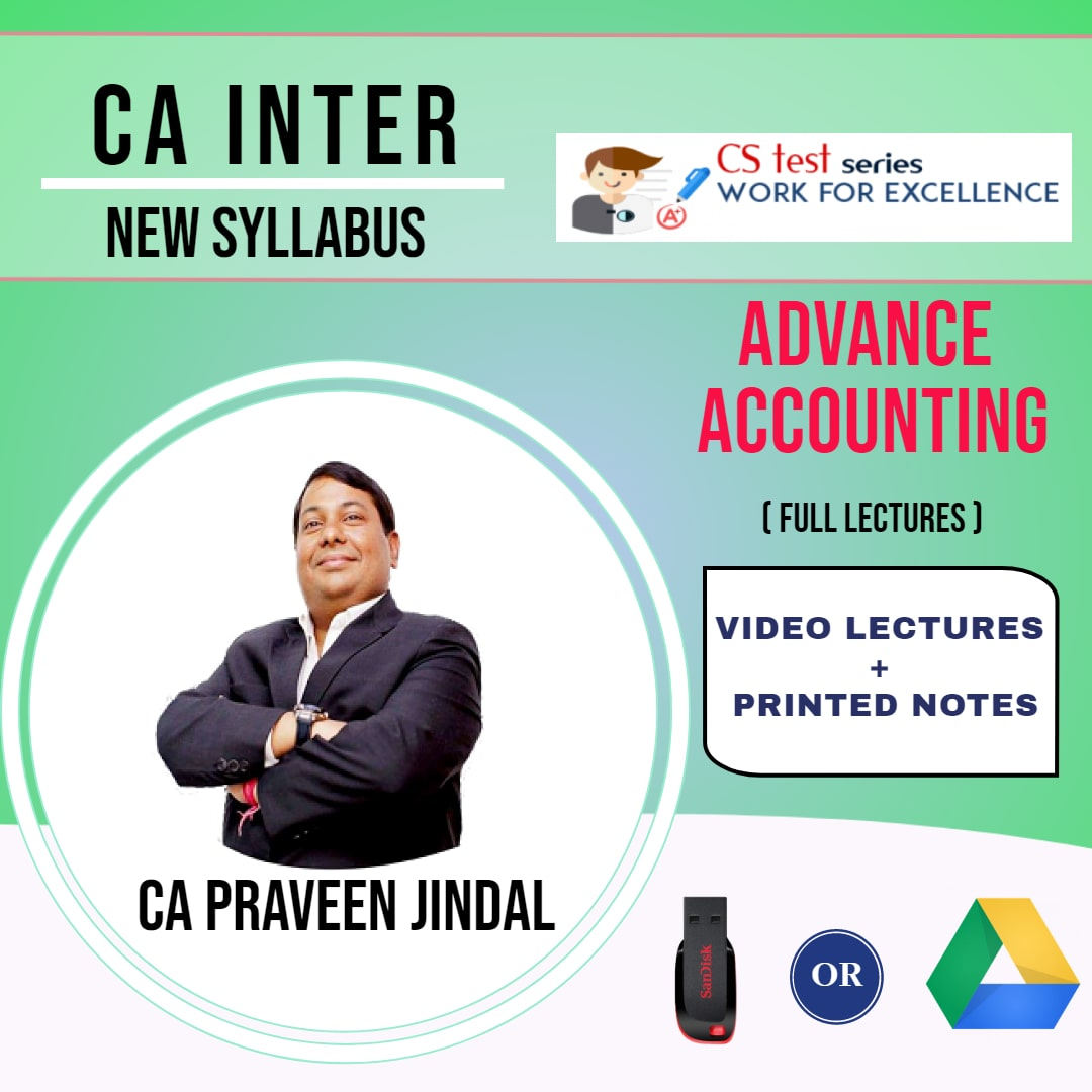 CA INTERMEDIATE GROUP II Advanced Accounting Full Lectures By CA Parveen Jindal
