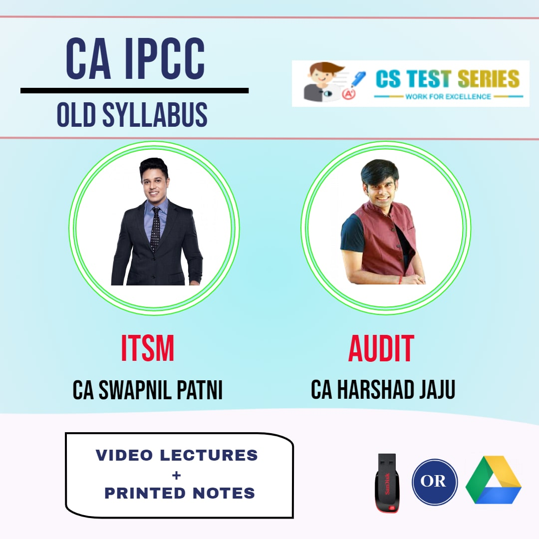 CA IPCC COMBO IT SM AND AUDIT FULL COMBO Full Lectures By CA Harshad Jaju   CA Swapnil Patni