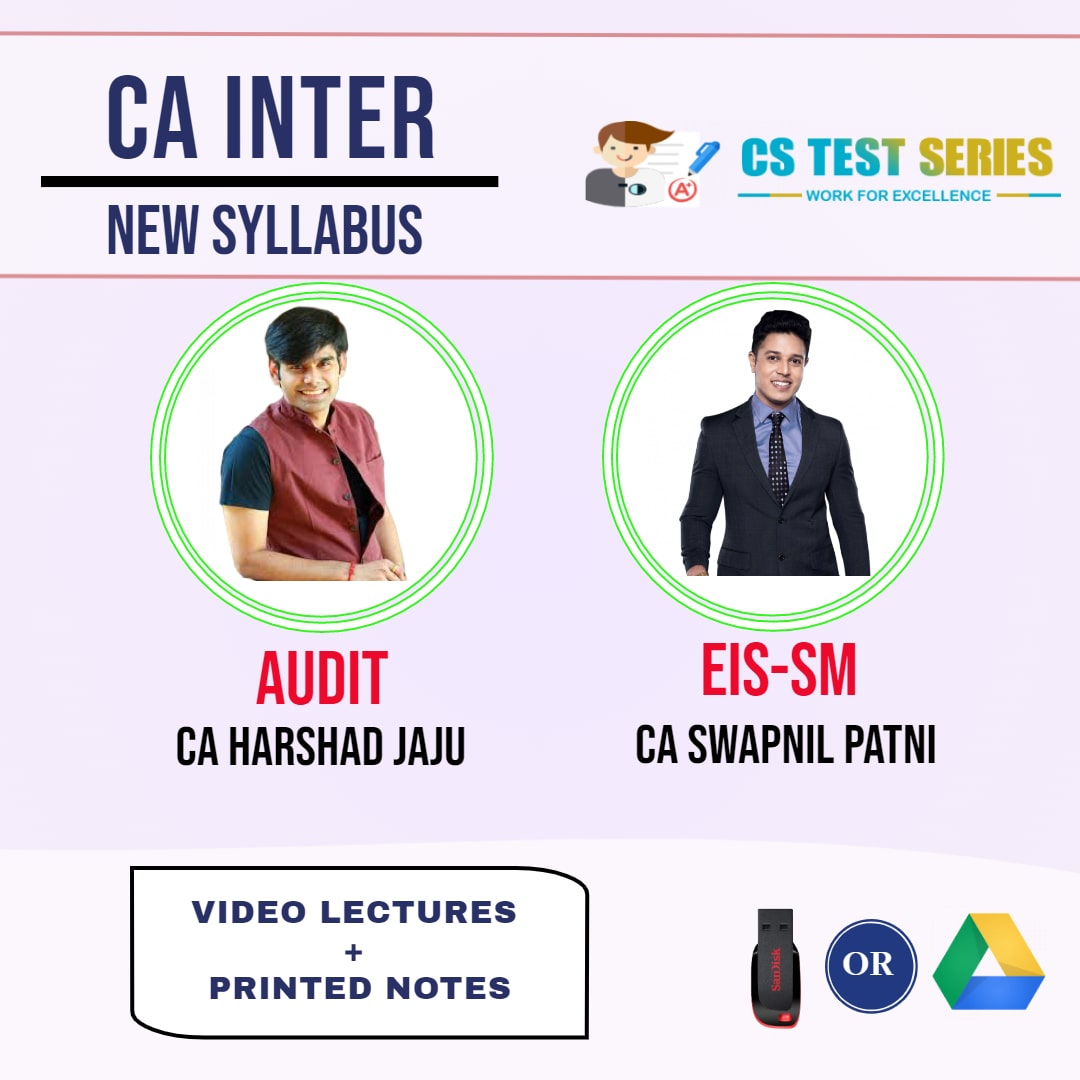 CA INTERMEDIATE COMBO EIS SM AND AUDIT COMBO Fastrack Lectures BY CA Swapnil patni   CA harshad jaju
