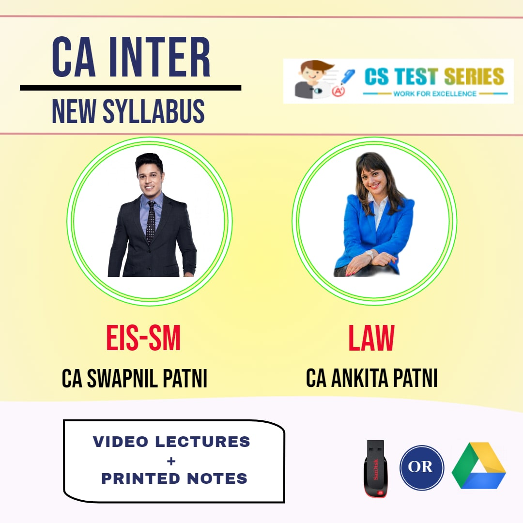 CA INTERMEDIATE COMBO EIS SM AND CORPORATE AND OTHER LAWS COMBO Full Lectures By CA Swapnil Patni   CA Ankita Patni