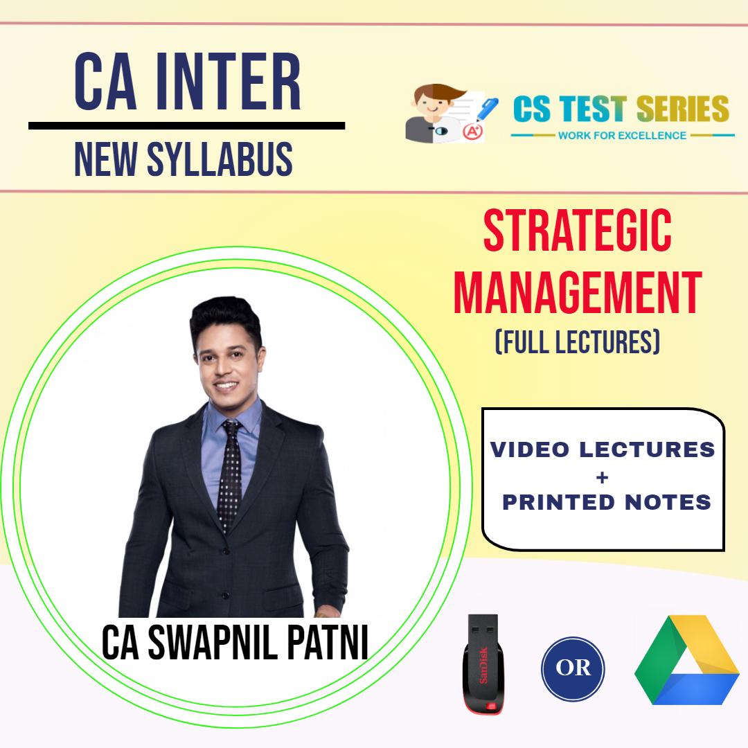 CA INTERMEDIATE GROUP II Strategic Management Full Lectures By CA SWAPNIL PATNI