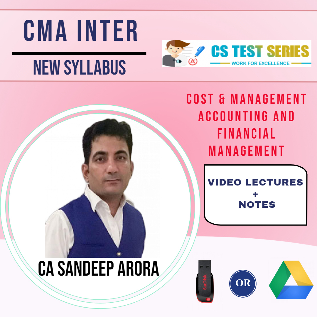 CMA Inter Group 2 CMA & FM (Hard Copy) BY CA SANDEEP ARORA