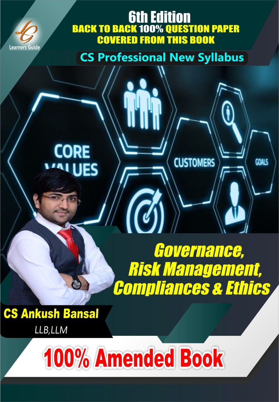 Governance Risk Management Compliance And Ethics by CS Ankush bansal